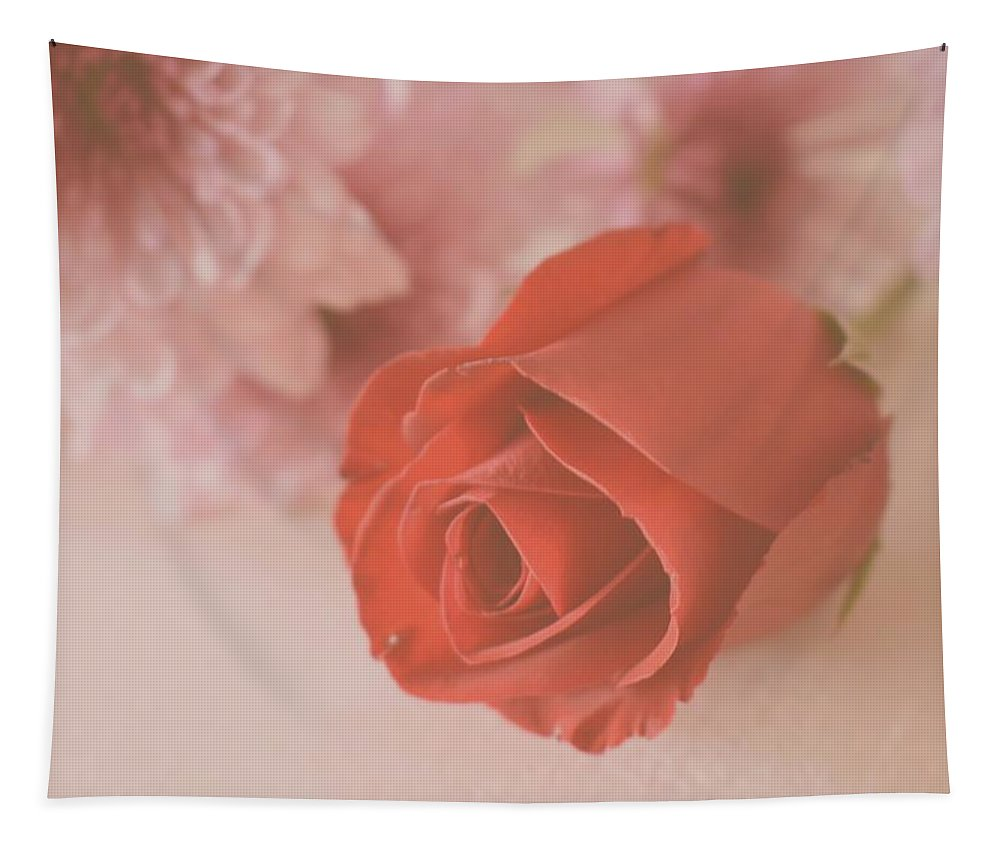Rose Tapestry featuring the photograph Rose #007 by Ninie AG