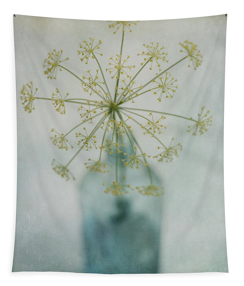 Dill Tapestry featuring the photograph Round Dance by Priska Wettstein