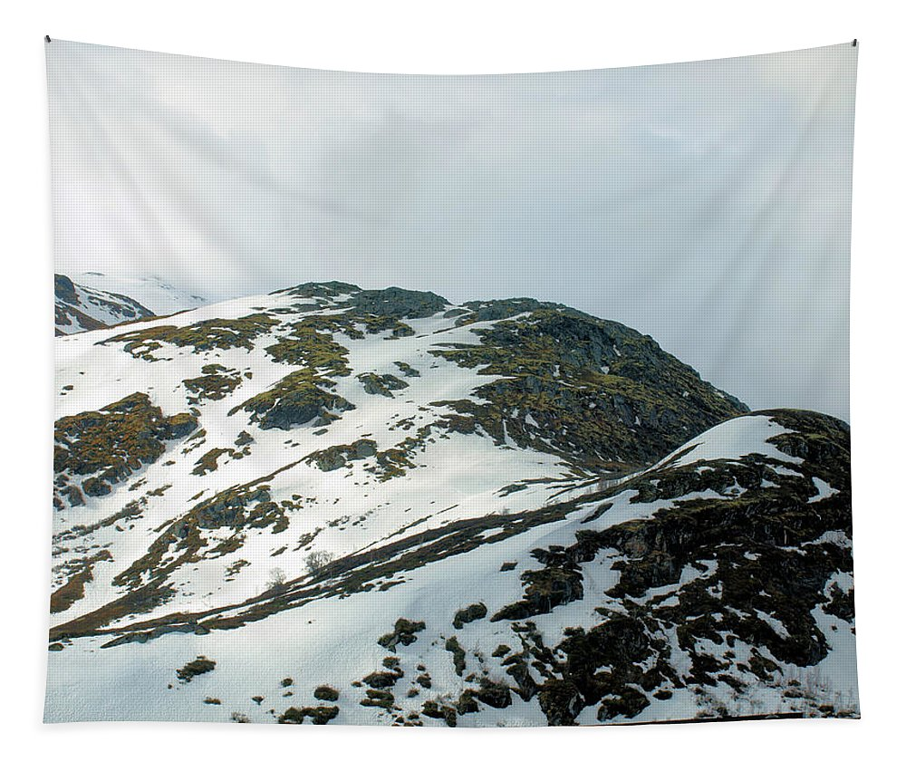 Ruggedterrain Tapestry featuring the photograph Rugged Terrain by Barry King