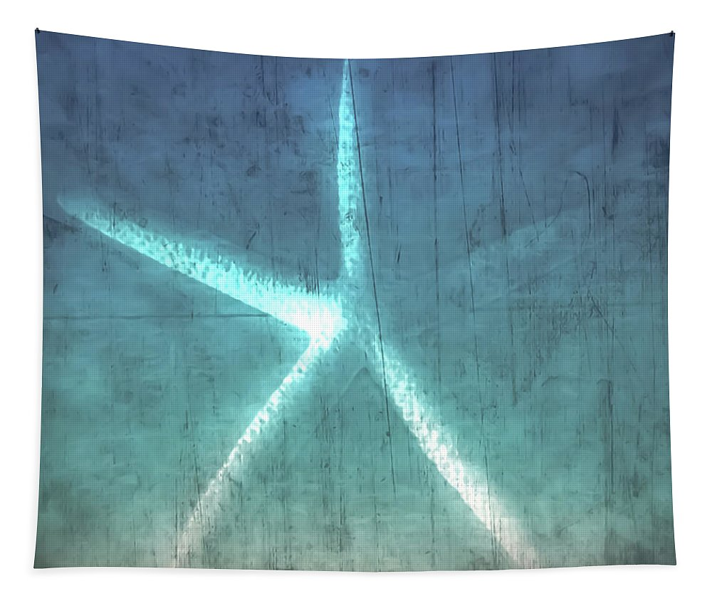 Tapestry featuring the photograph Rustic Starfish by Heather Joyce Morrill