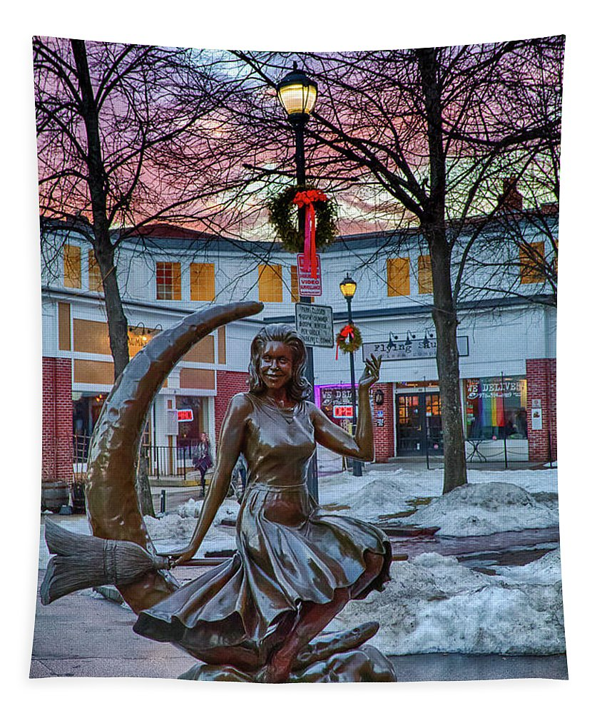 Salem Ma Tapestry featuring the photograph Salem Is Bewitched by Jeff Folger