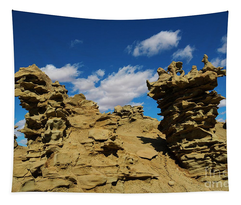 Siltstone Tapestry featuring the photograph Sand Demons by Mike Dawson