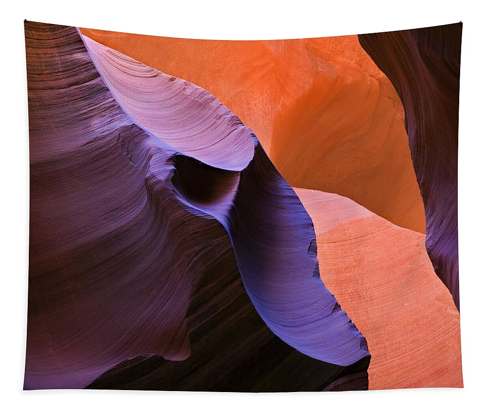 Sandstone Tapestry featuring the photograph Sandstone Apparition by Mike Dawson
