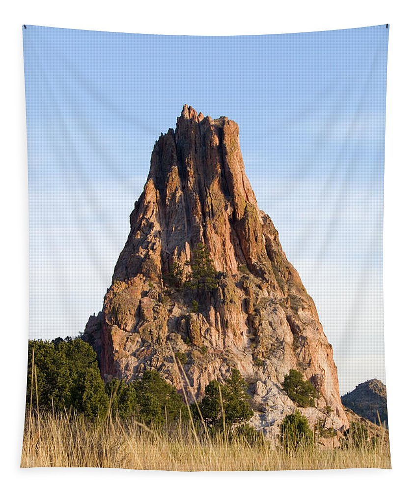 Beautiful Tapestry featuring the photograph Sandstone Spires In Garden Of The Gods by Steve Krull