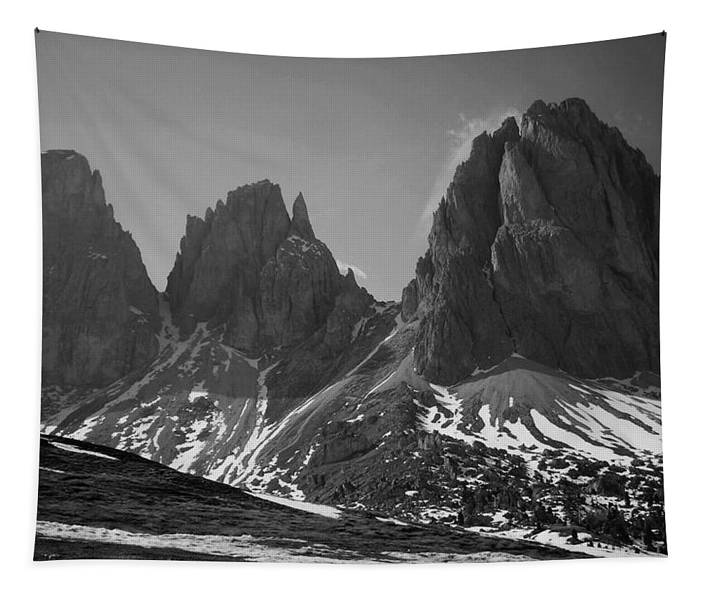 Europe Tapestry featuring the photograph Sasso Lungo by Juergen Weiss