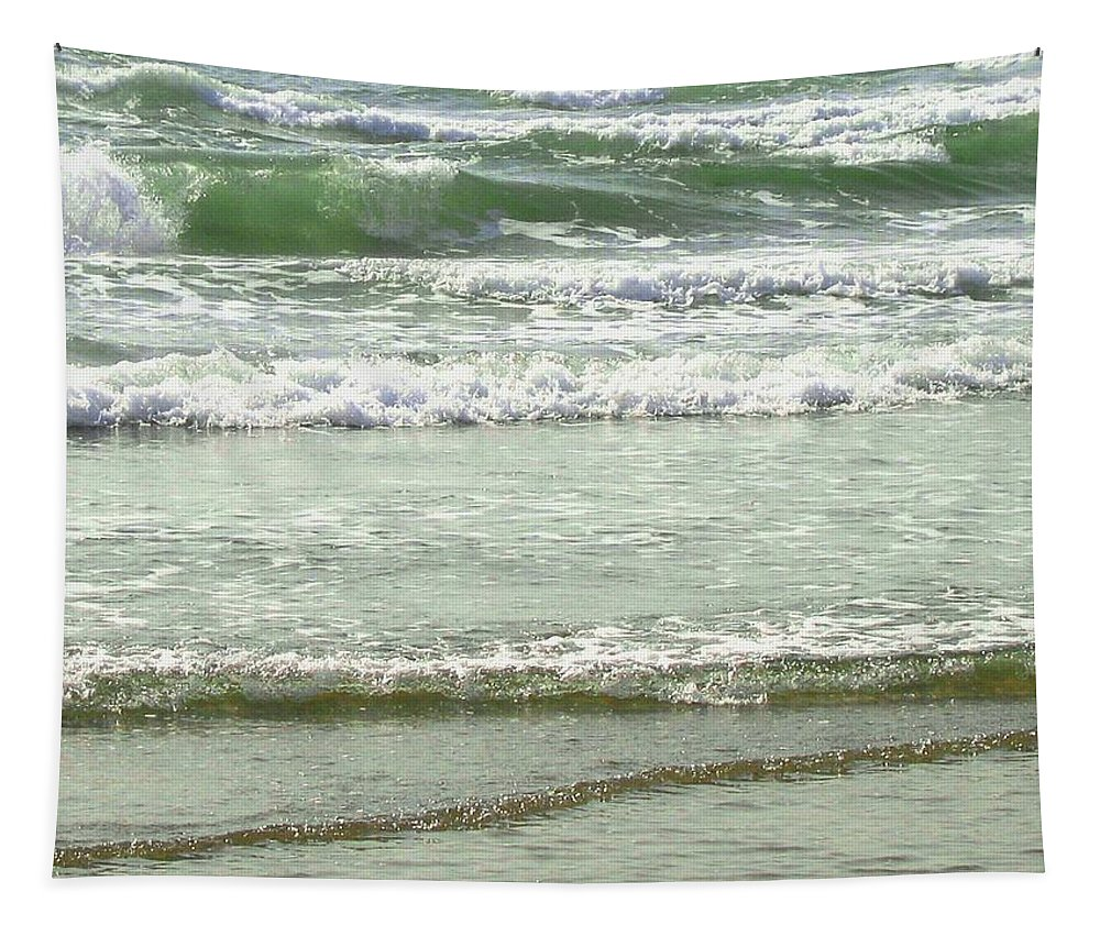 Sea Tapestry featuring the photograph Sea Green by Will Borden