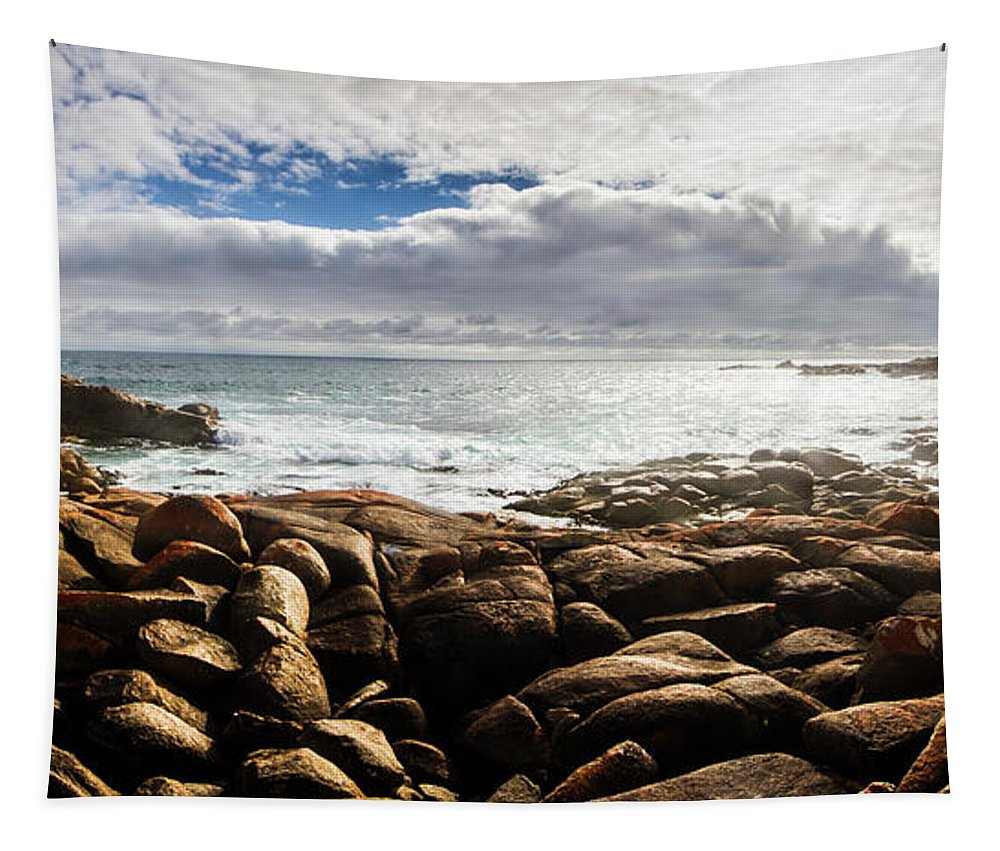 Water Tapestry featuring the photograph Seascape In Harmony by Jorgo Photography - Wall Art Gallery