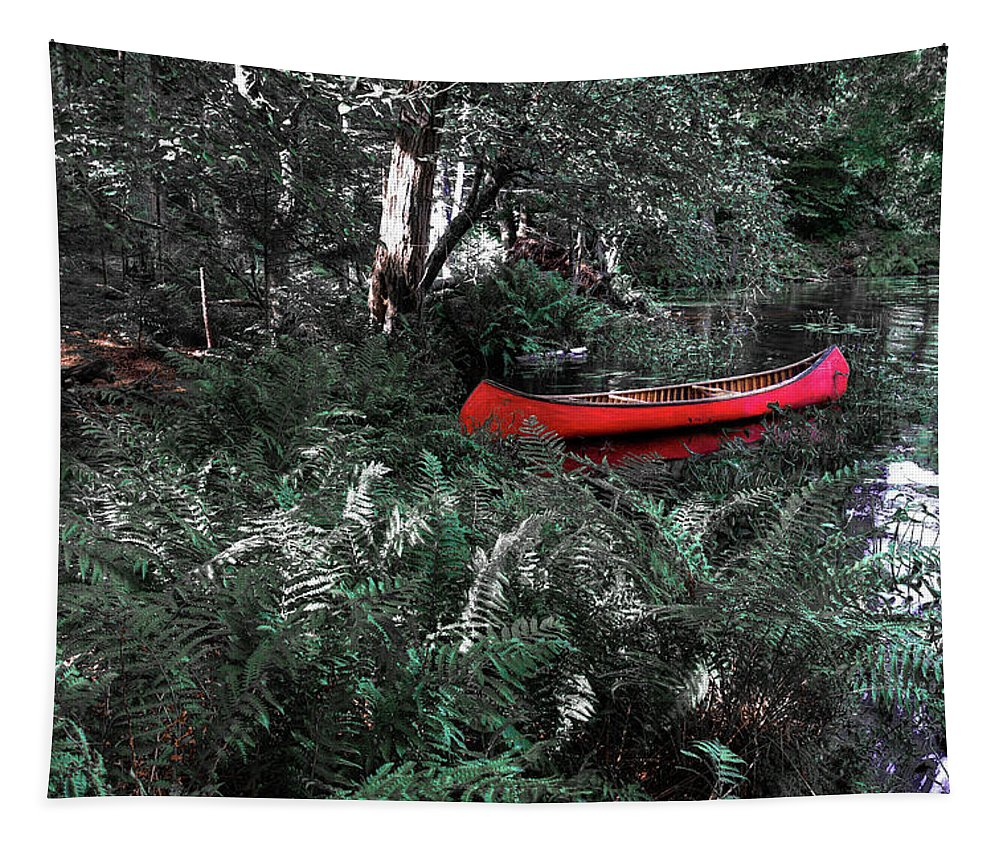 Secluded Spot Tapestry featuring the photograph Secluded Spot by David Patterson