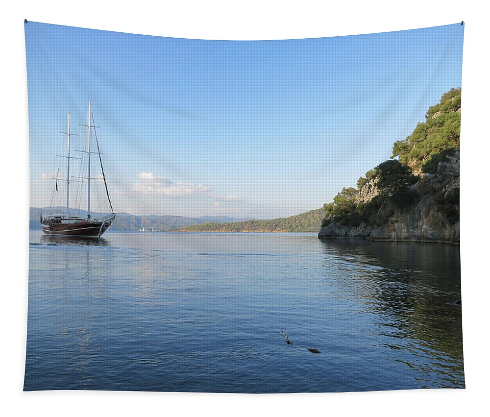 Serenity Tapestry featuring the photograph Serenity by Phyllis Taylor