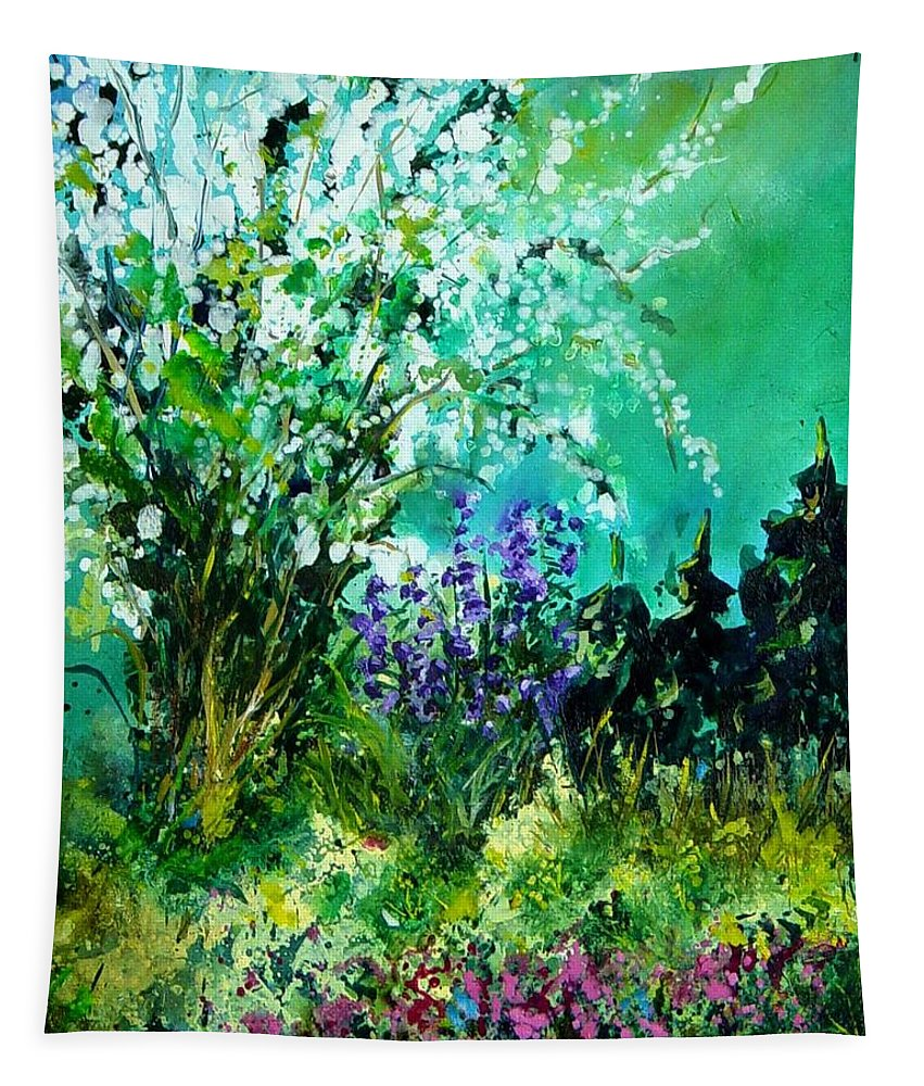 Tree Tapestry featuring the painting Seringa by Pol Ledent