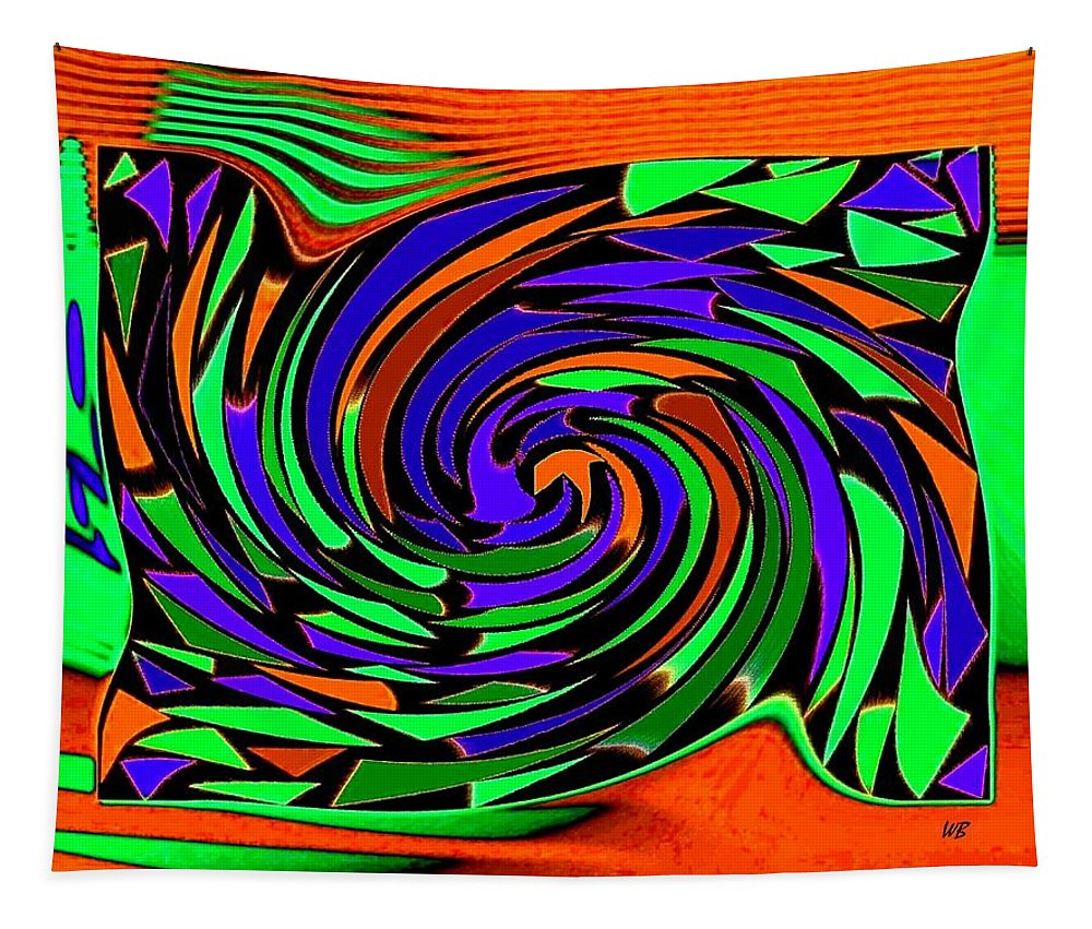 Sahara Tapestry featuring the digital art Shifting Sands by Will Borden