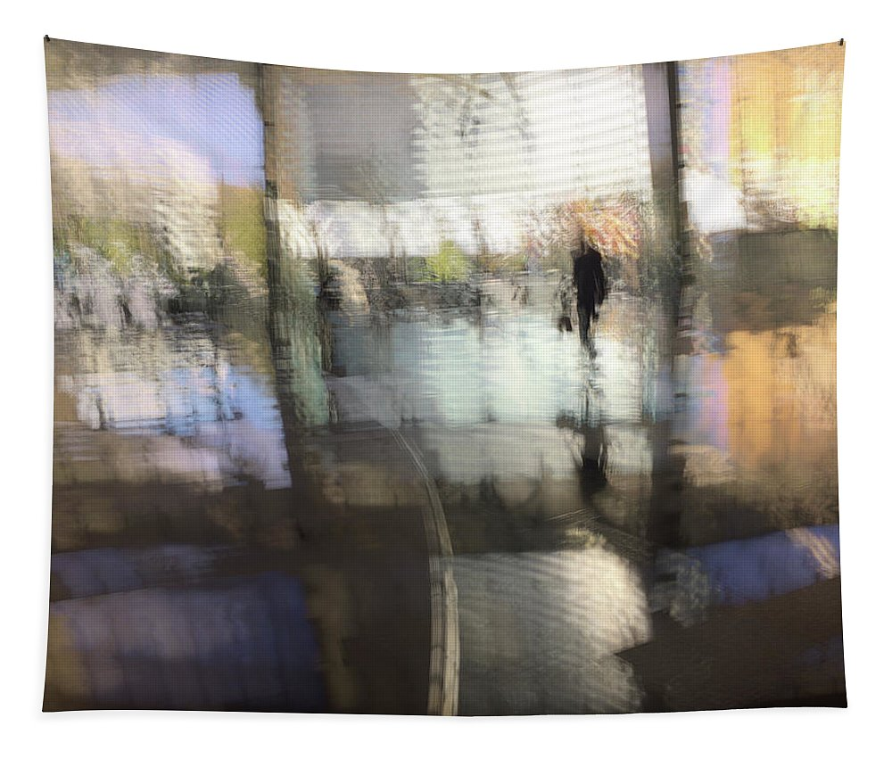 Shimmer Tapestry featuring the photograph Shimmer by Alex Lapidus