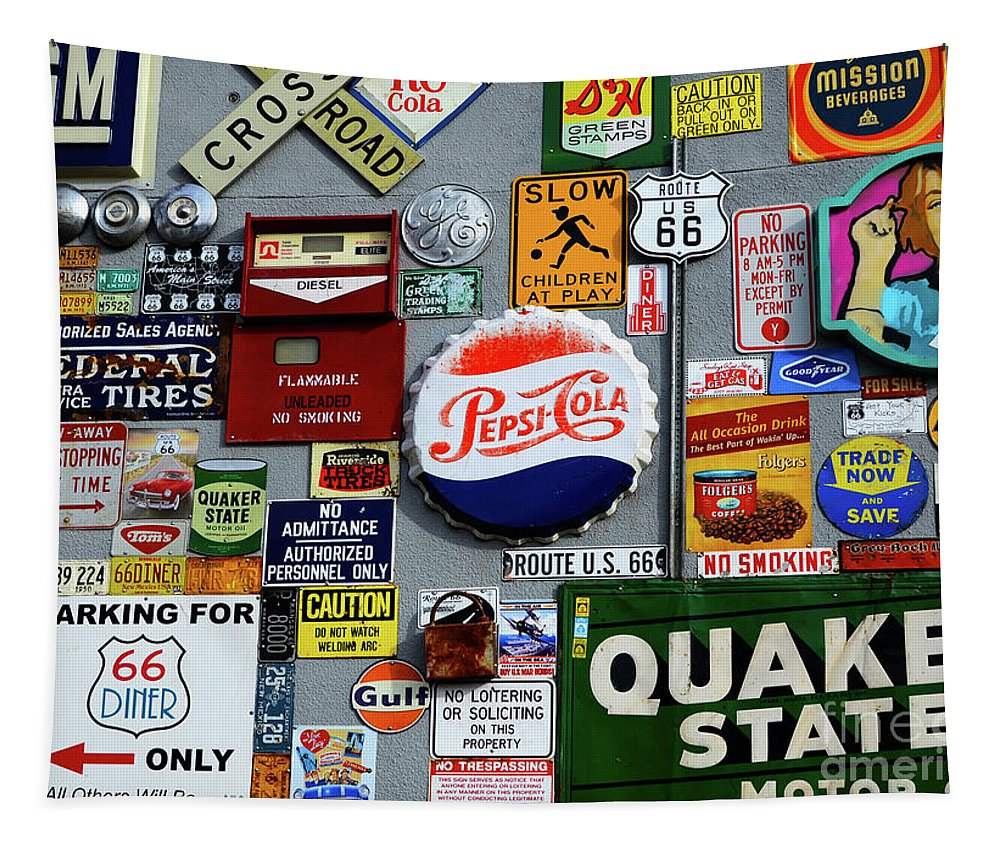 Sign Tapestry featuring the photograph Sign Me Up 1 by Bob Christopher