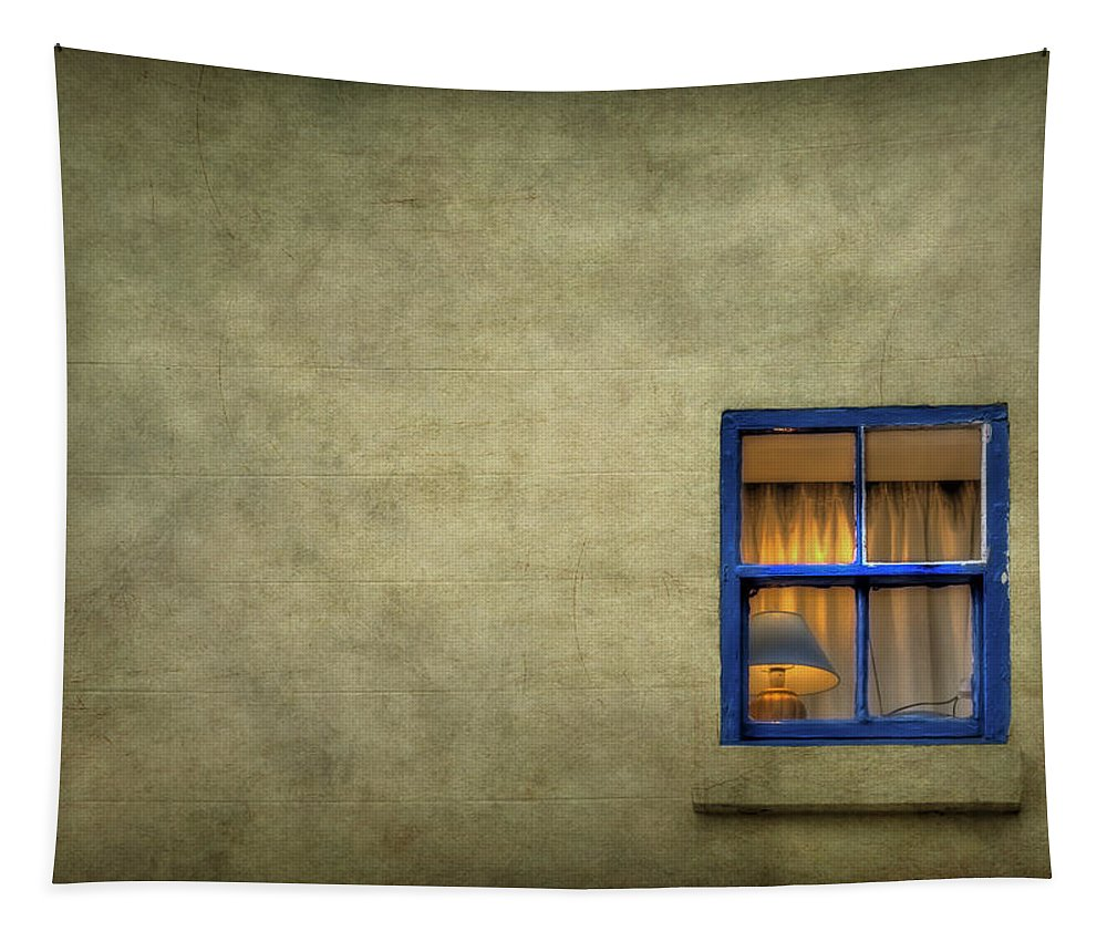 Window Tapestry featuring the photograph Silent I Wait by Evelina Kremsdorf