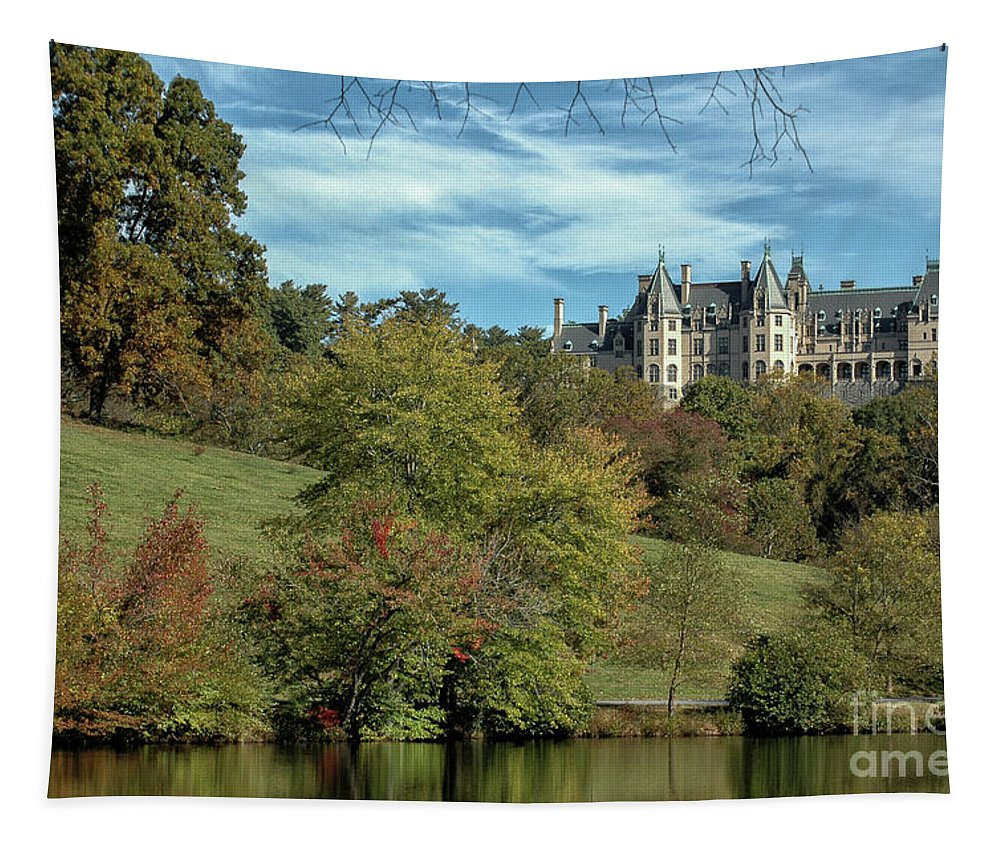 Biltmore Tapestry featuring the photograph Simpler Times by Dale Powell