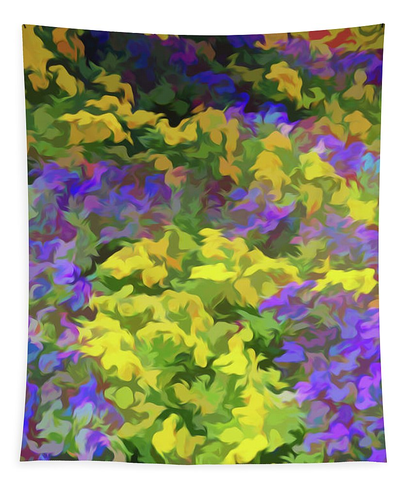 Flower Tapestry featuring the photograph Simply Soft Colorful Garden by Aimee L Maher ALM GALLERY