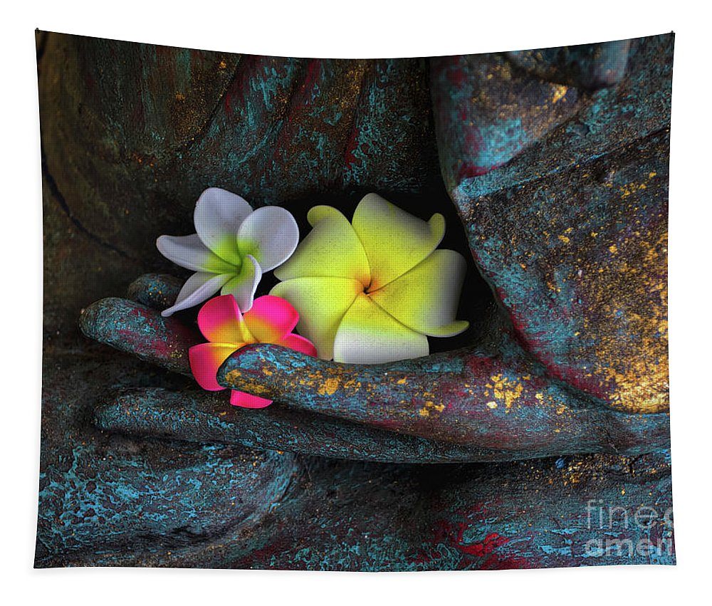 Soft Hand Tapestry featuring the photograph Soft Hand by Mitch Shindelbower