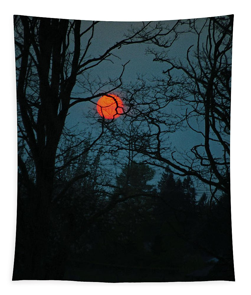Sunset Tapestry featuring the photograph Solar Disguise by Tikvah's Hope