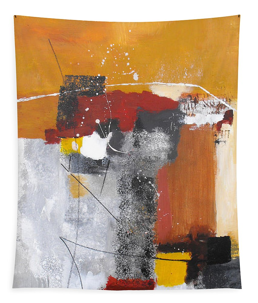 Abstract Tapestry featuring the painting Special Circumstances by Ruth Palmer
