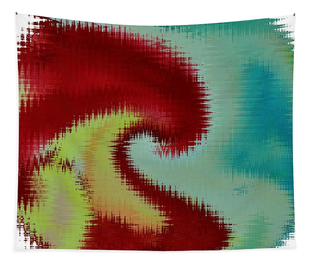 Art For Sale Tapestry featuring the digital art Spherical Colours by Sonali Gangane