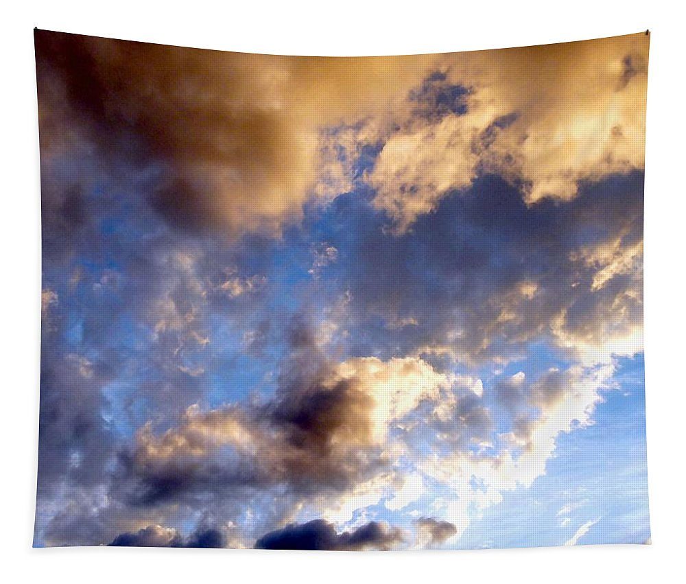 Splendid Cloudscape 3 Tapestry featuring the photograph Splendid Cloudscape 3 by Will Borden