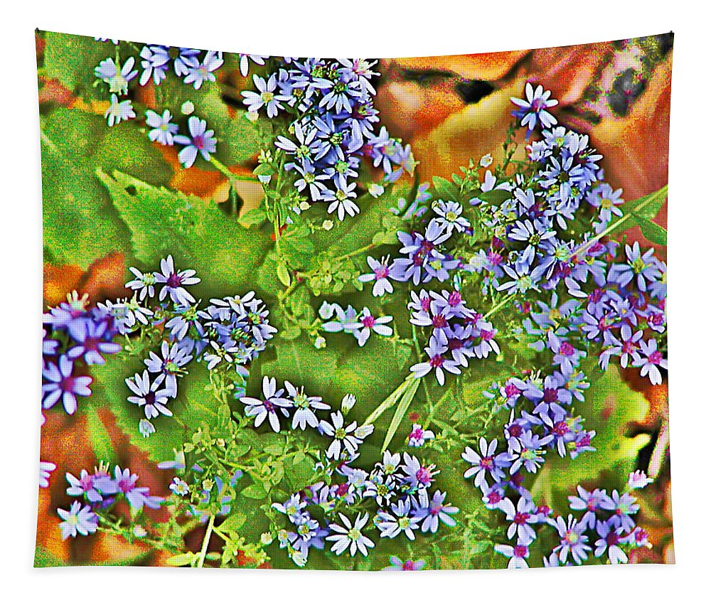 Flower Tapestry featuring the photograph Spring by Bill Cannon