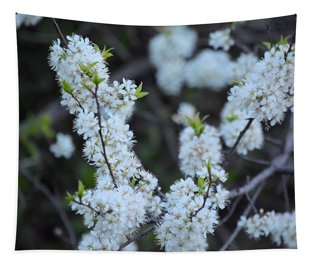 Flower Tapestry featuring the photograph Spring Blossoms 2 by Bonfire Photography