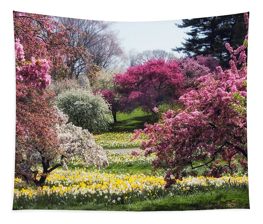 Spring Tapestry featuring the photograph Spring Has Sprung by Jessica Jenney