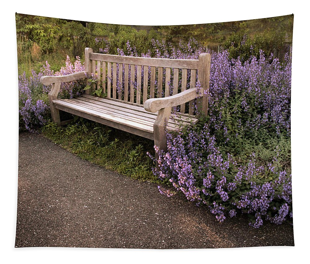 Lavender Tapestry featuring the photograph Spring Interlude by Jessica Jenney