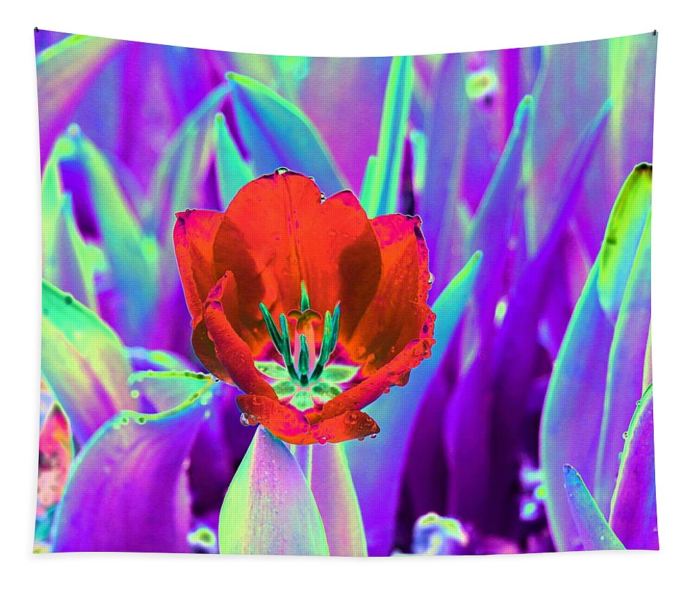 Tulip Tapestry featuring the photograph Spring Tulips - Photopower 3146 by Pamela Critchlow