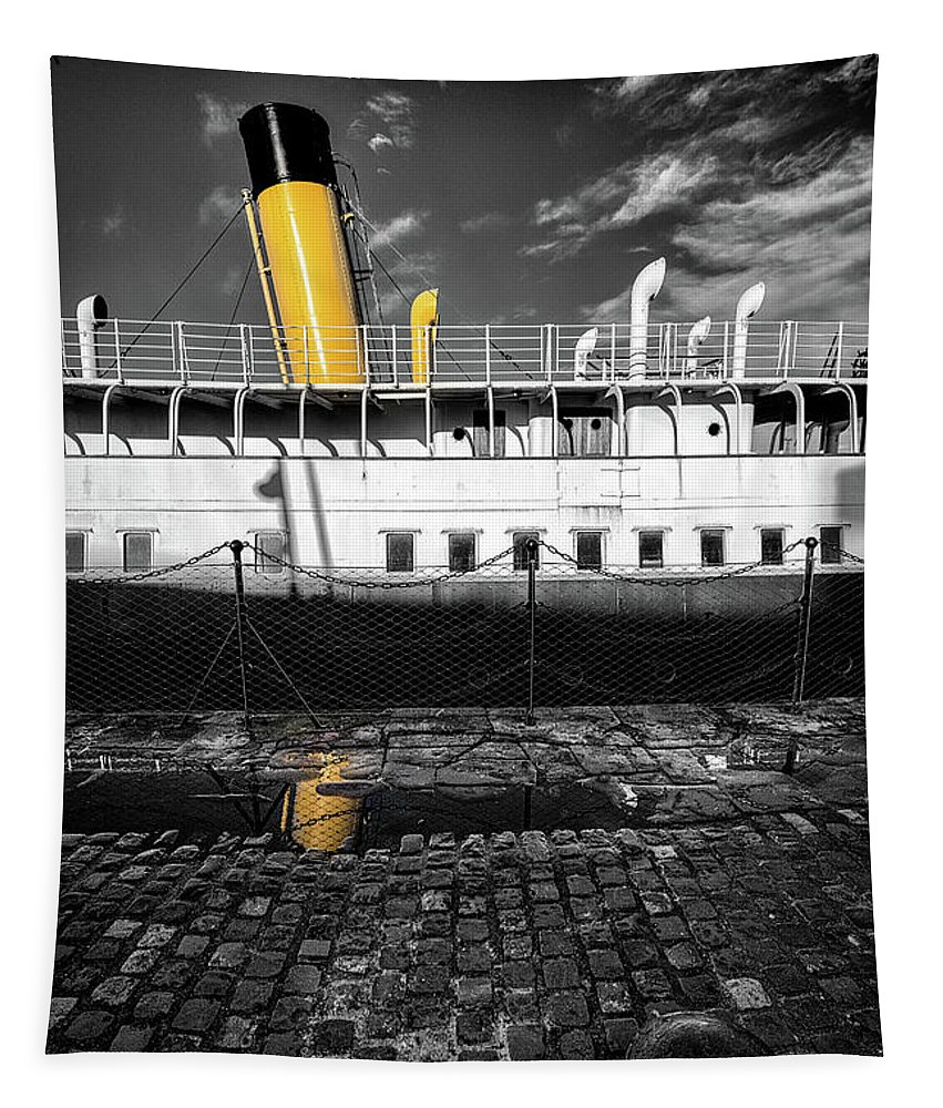 Ss Nomadic Tapestry featuring the photograph Nomadic 1 by Nigel R Bell
