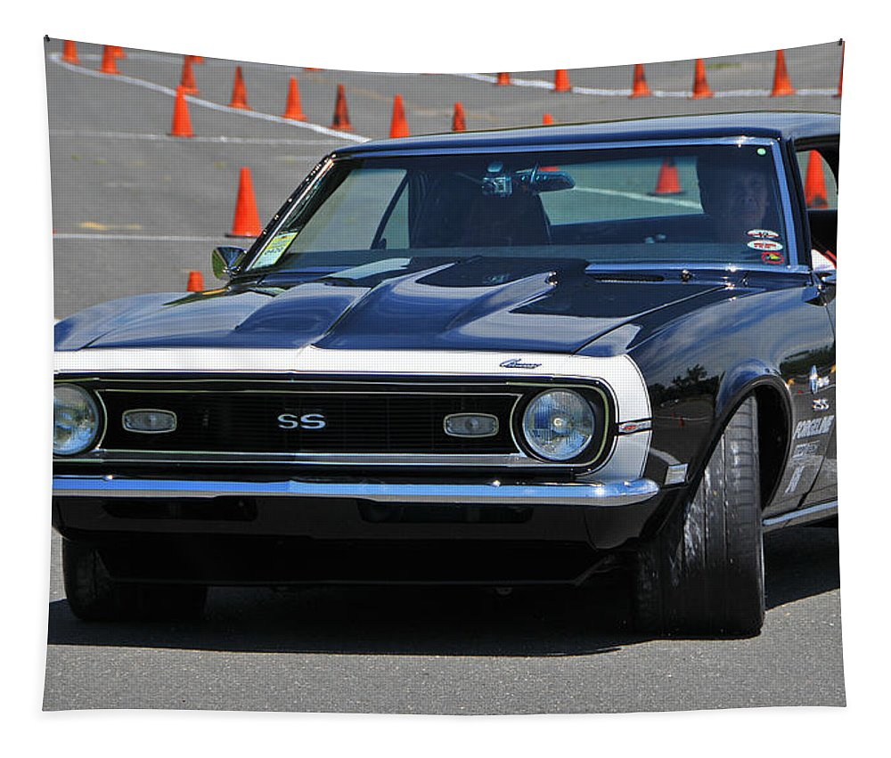 Chevrolet Tapestry featuring the photograph Ss On Autocross Course by Mike Martin