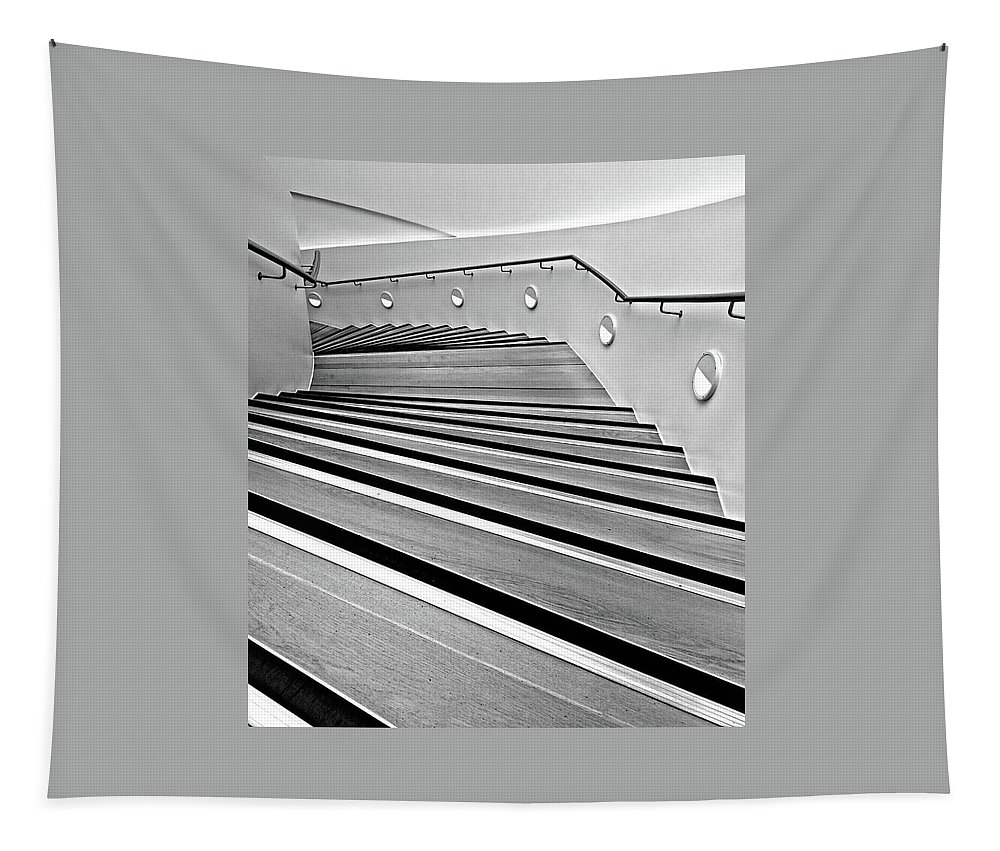 Stairs Tapestry featuring the photograph Stairs by Keri Butcher