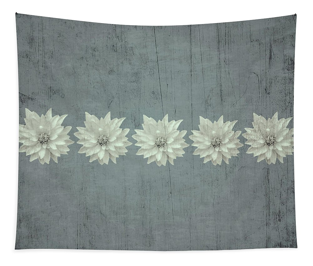 Tapestry featuring the photograph Steely Gray Bluer Version by Heather Joyce Morrill