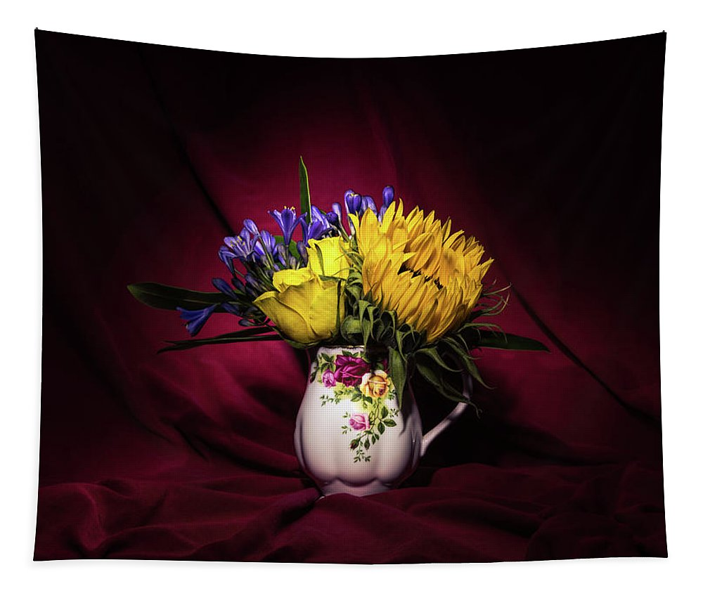 Flowers Tapestry featuring the photograph Still Life 1 by Matt Malloy