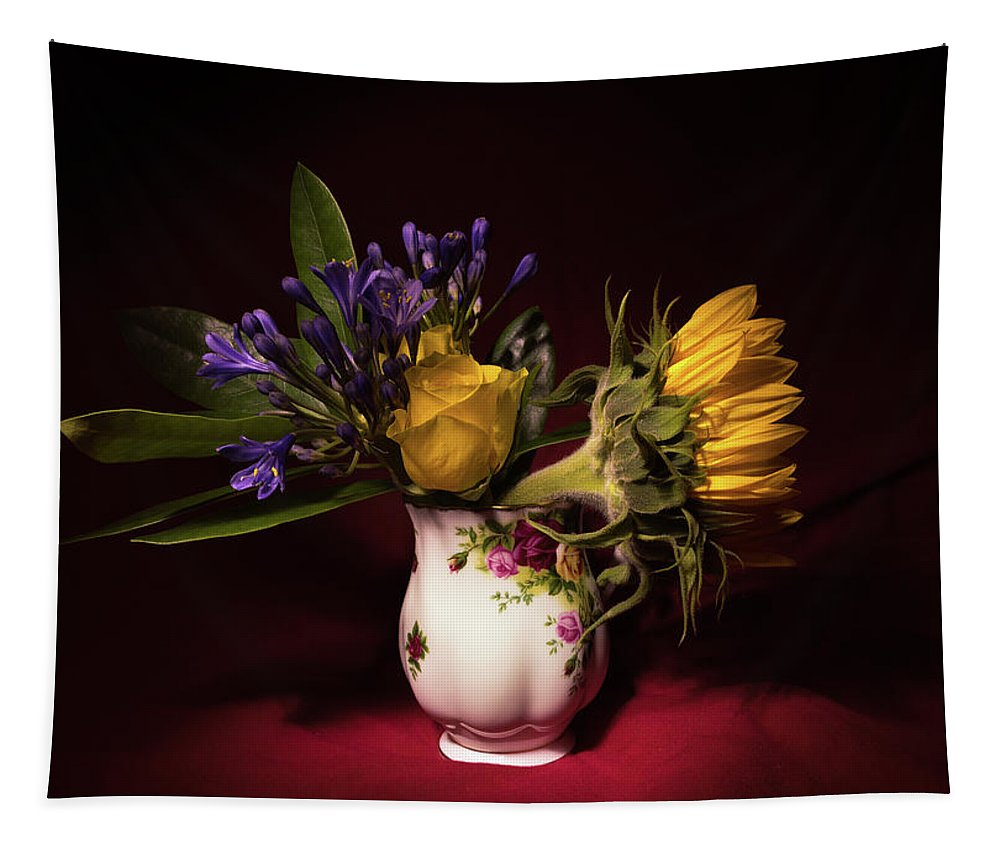 Flowers Tapestry featuring the photograph Still Life 2 by Matt Malloy