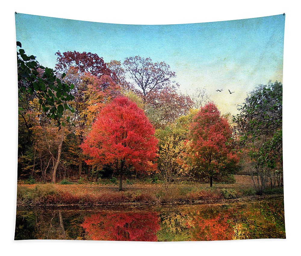 Nature Tapestry featuring the photograph Stillness Speaks by Jessica Jenney