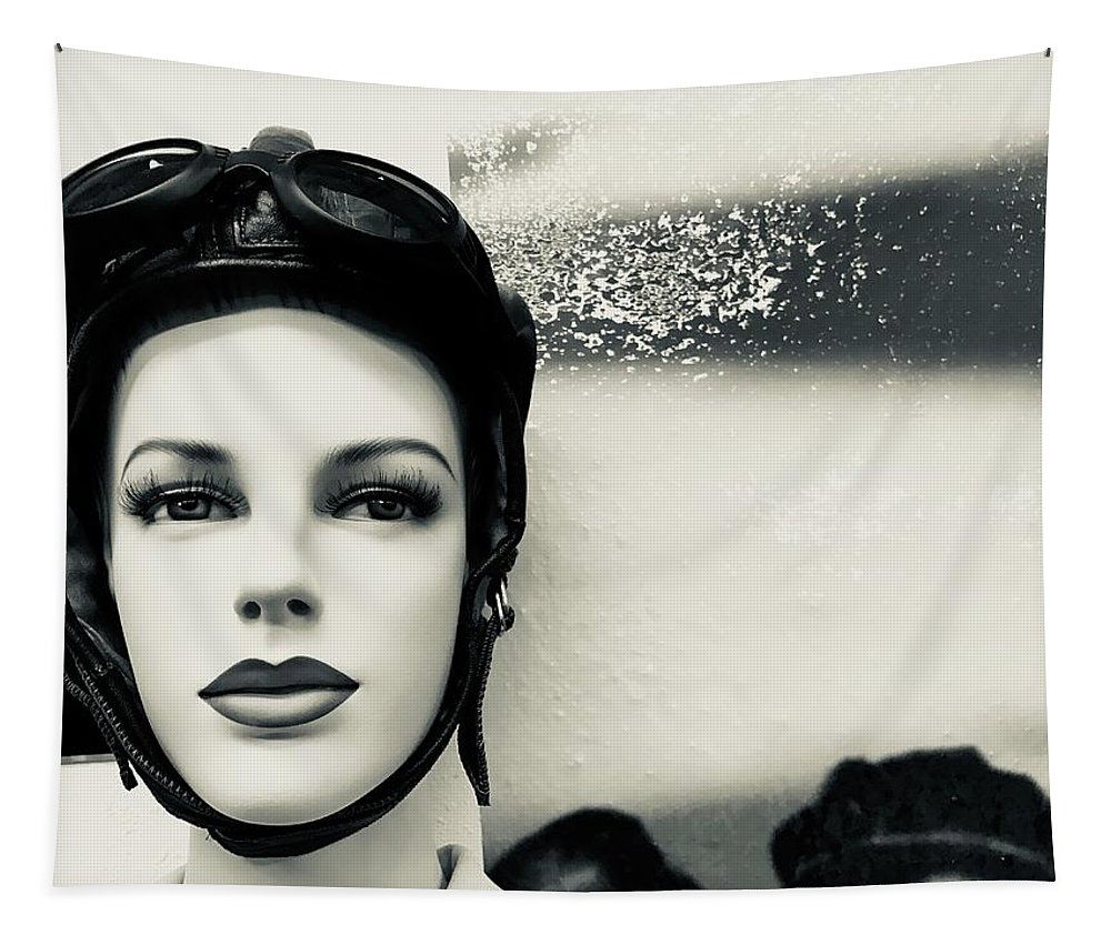 Portrait Tapestry featuring the photograph Sturgis Profile by FlyingFish Foto