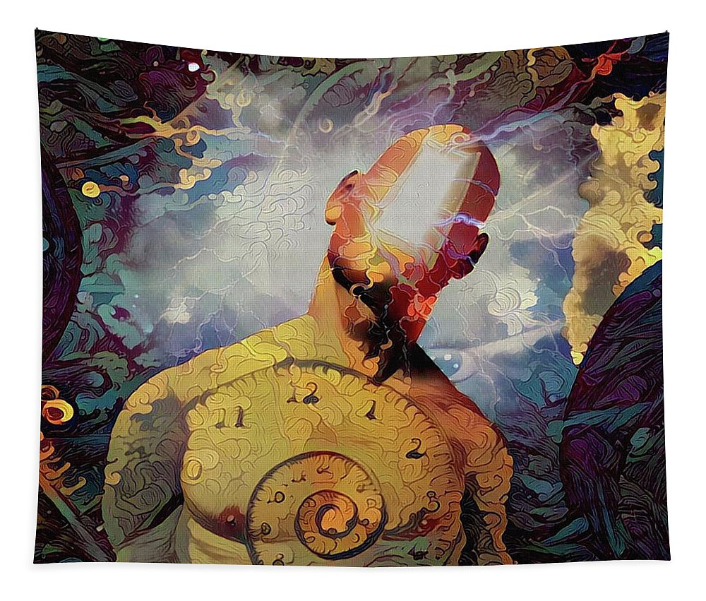 Imagination Tapestry featuring the digital art Subconsciousness by Bruce Rolff