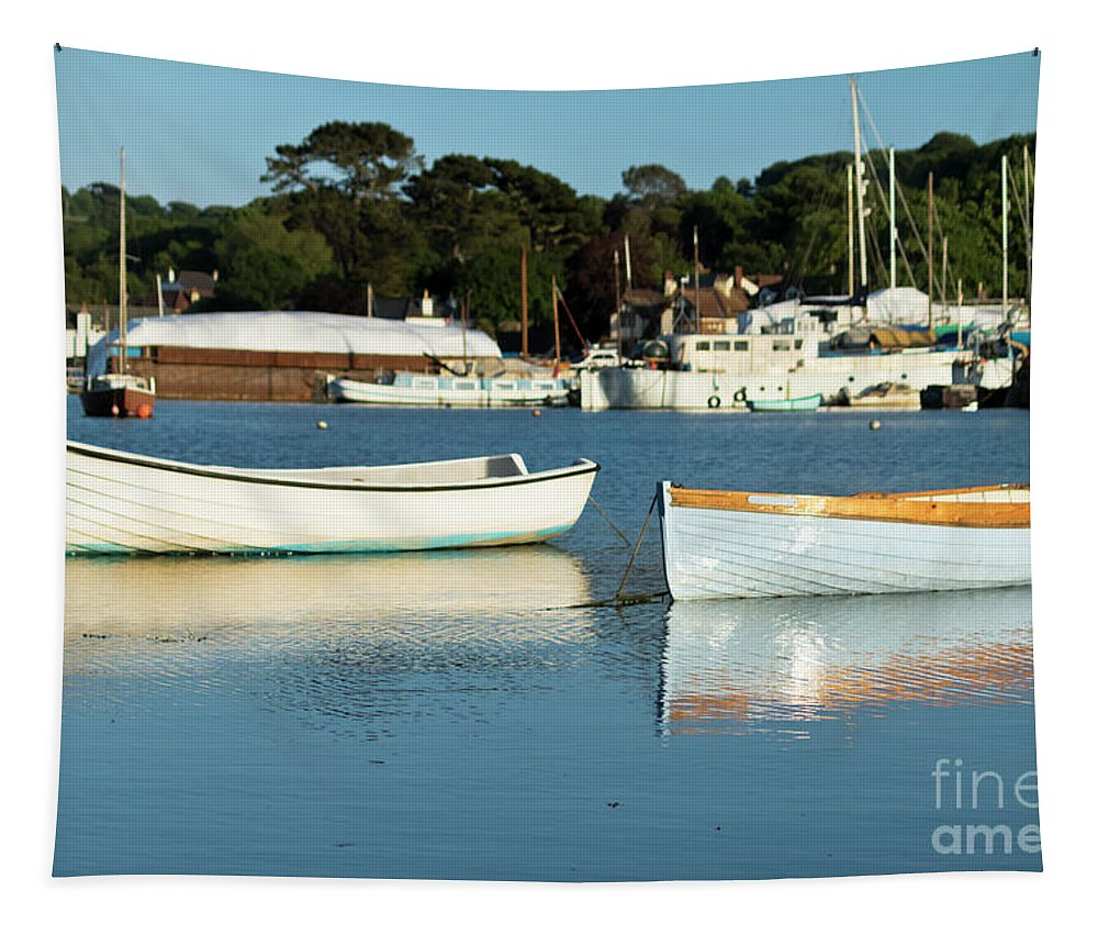 Mylor Creek Tapestry featuring the photograph Summer Arrivals by Terri Waters