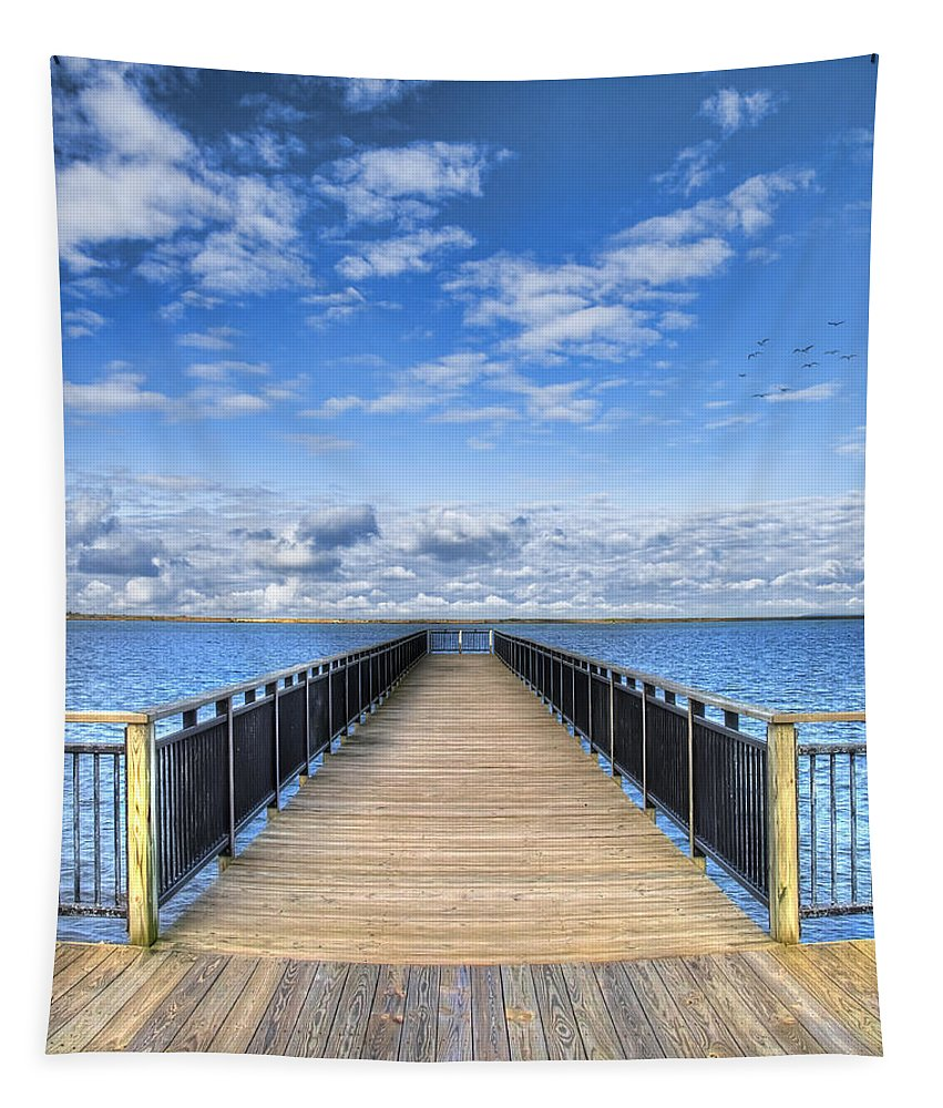 Hdr Tapestry featuring the photograph Summer Bliss by Tammy Wetzel