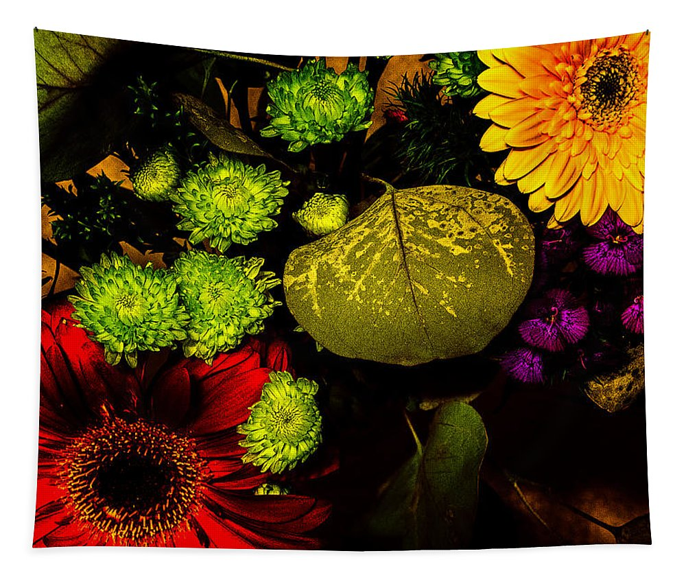 Flowers Tapestry featuring the photograph Summer Boquet by Robert Storost