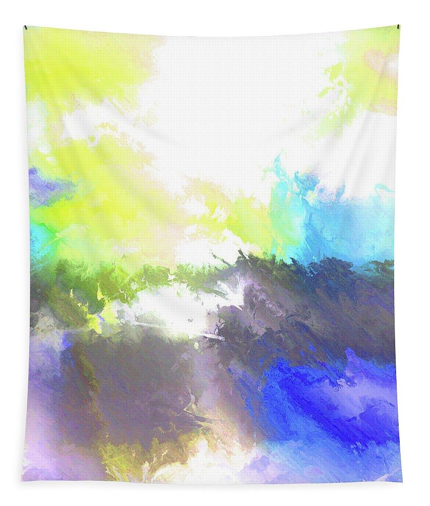 John Emmett Tapestry featuring the painting Summer IIi by John WR Emmett