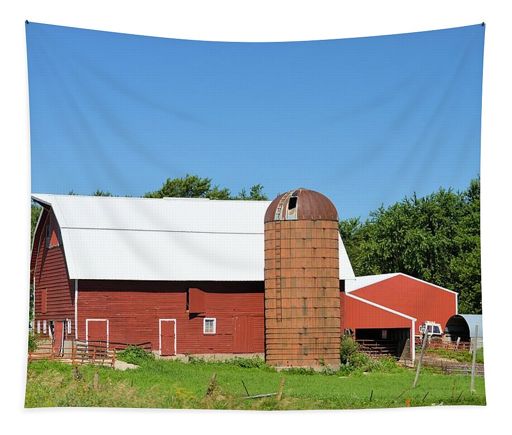 Summer Tapestry featuring the photograph Summer In Iowa by Bonfire Photography