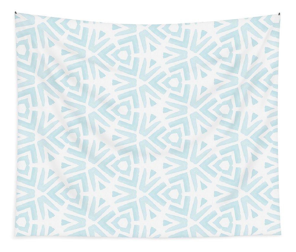 Pattern Tapestry featuring the digital art Summer Splash- Pattern Art By Linda Woods by Linda Woods