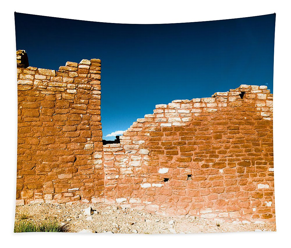 Ruins Tapestry featuring the photograph Sun Soaked Ruins by Jeff Swan
