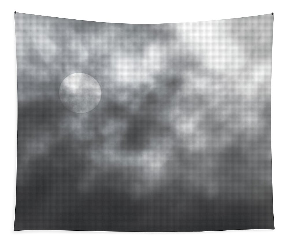 Sun Tapestry featuring the photograph Sun Through The Clouds by Mick Anderson