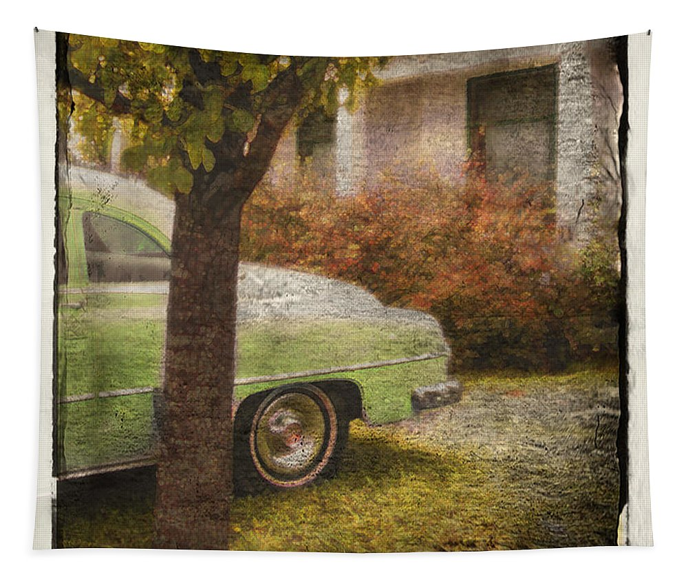 Cars Tapestry featuring the photograph Sunday Morning by John Anderson