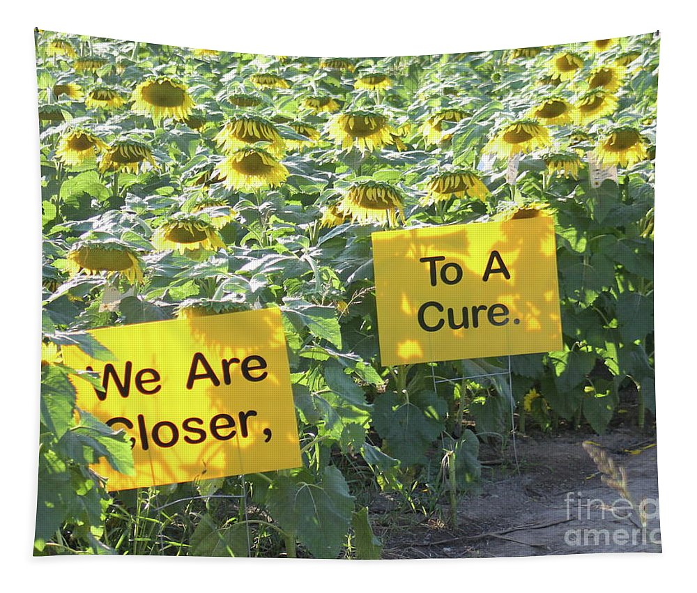 Sunflower Tapestry featuring the photograph Sunflower Power by The Art of Alice Terrill
