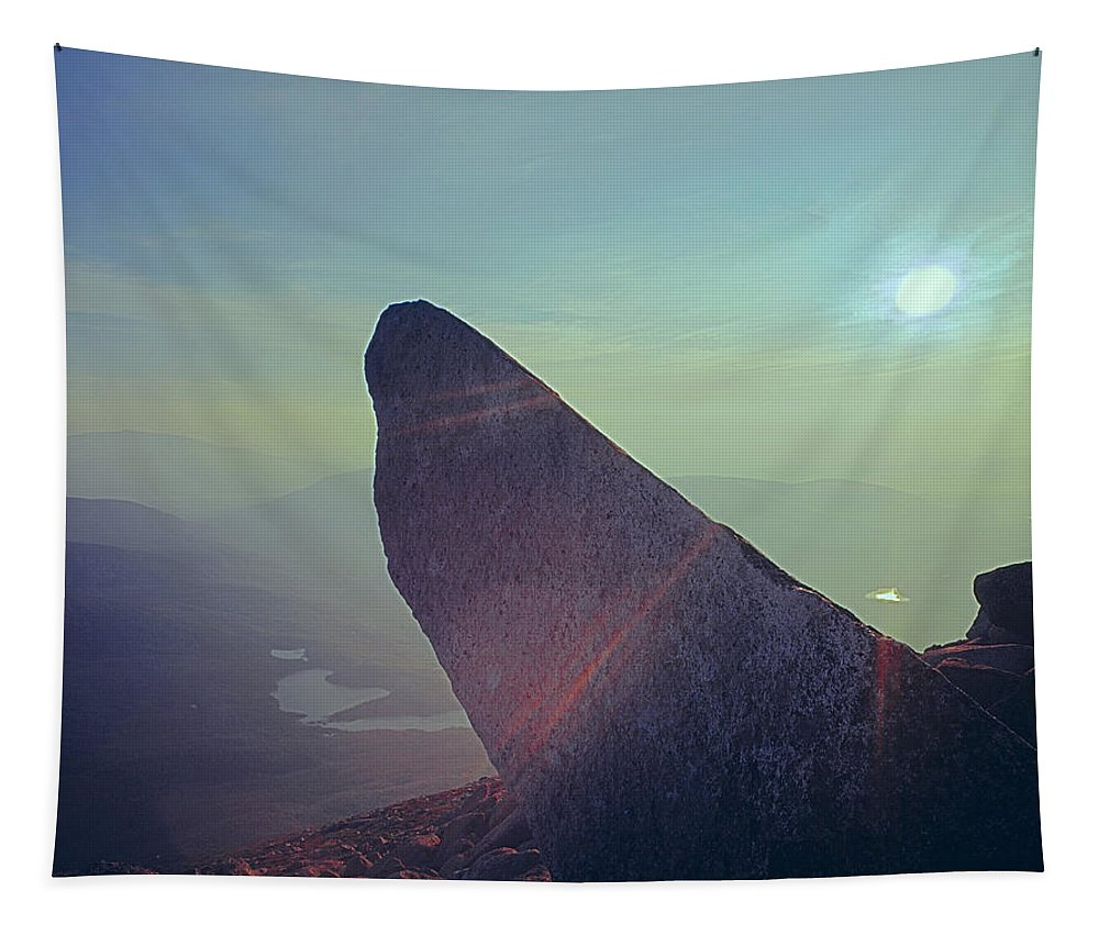 Index Rock Tapestry featuring the photograph 136625-sunrise At Index Rock by Ed Cooper Photography